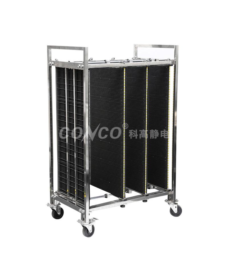 COC-603A ESD carro de almacenamiento de pcb antiestático