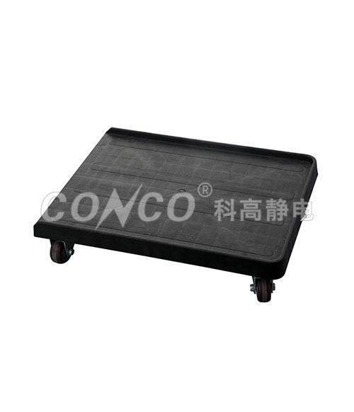 Carro de plástico plano COD-605 ESD