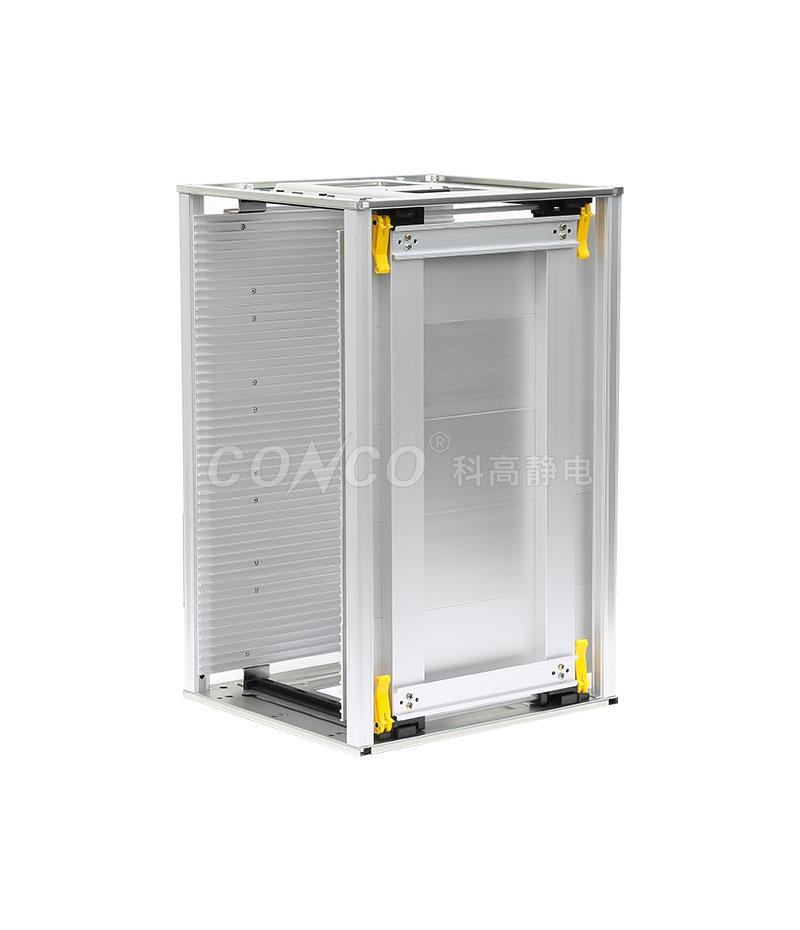 Revistero de placa de circuito impreso de aluminio ESD COP-803L