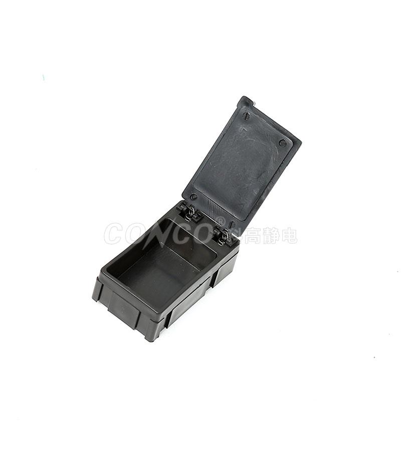 Caja de componentes de plástico antiestático COP-3106