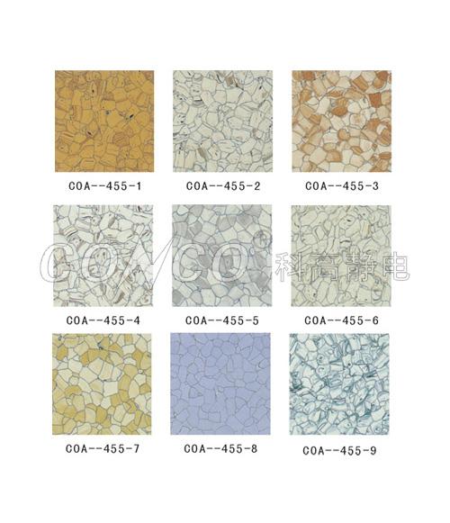 Serie de suelos de PVC ESD
