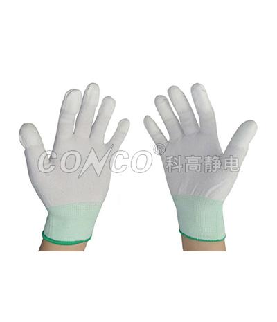 Esd PU guantes recubiertos de palma